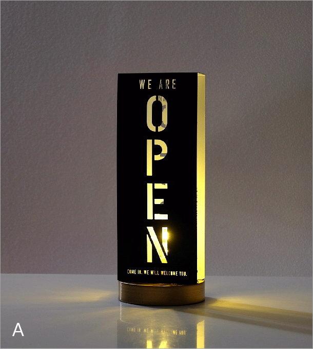 オープン・クローズライト3カラー(1)