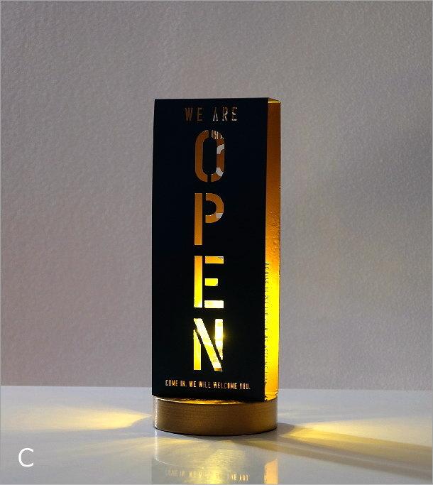 オープン・クローズライト3カラー(3)