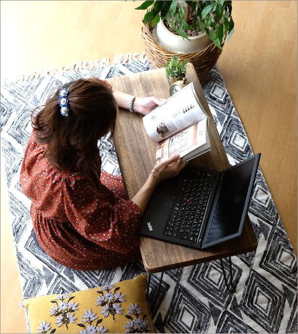 ウッド折り畳みテーブル レクタングル(1)