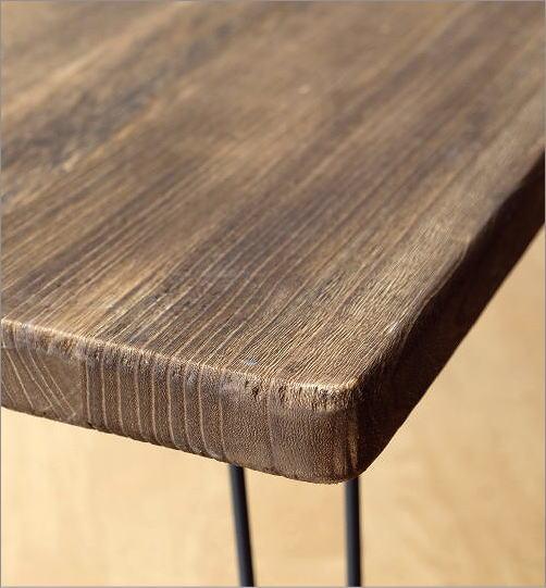 ウッド折り畳みテーブル レクタングル(5)