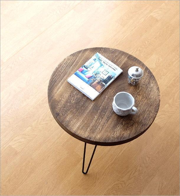 ウッドラウンドテーブル(1)
