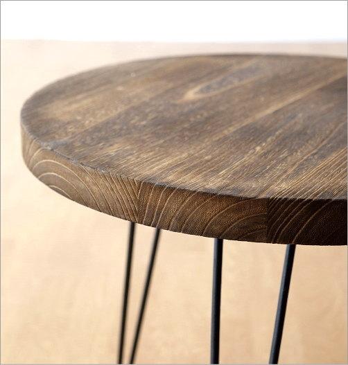 ウッドラウンドテーブル(3)