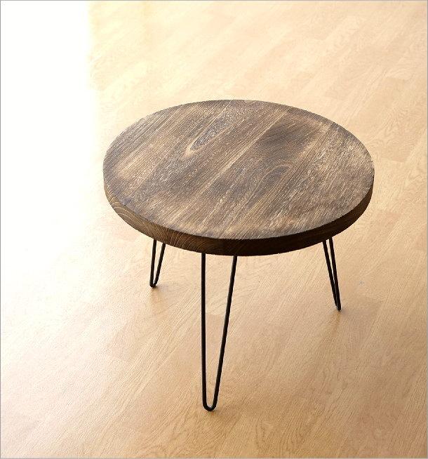 ウッドラウンドテーブル(5)