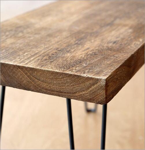 ウッド折り畳みテーブル スクエア(3)
