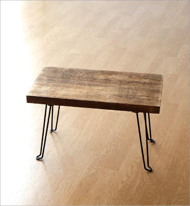 ウッド折り畳みテーブル スクエア(6)