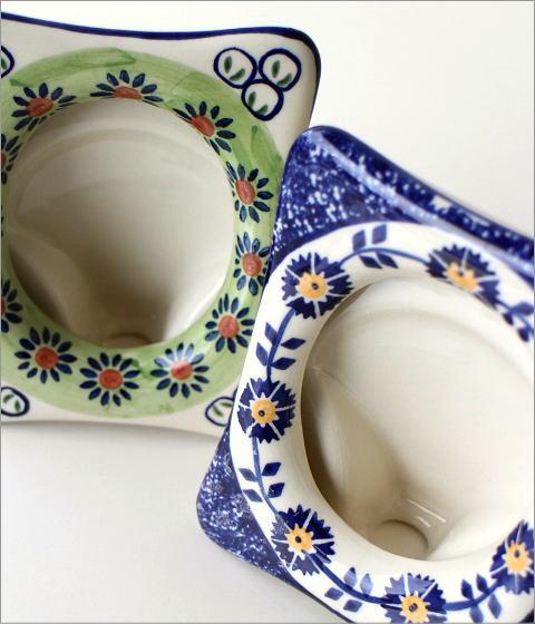 ポーランド陶器のフレーム 2タイプ(2)