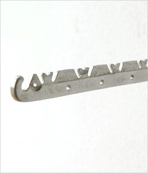 アルミの折り畳み壁掛けハンガー(3)