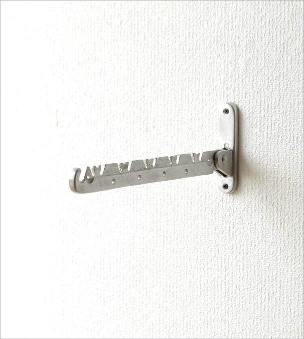 アルミの折り畳み壁掛けハンガー(5)