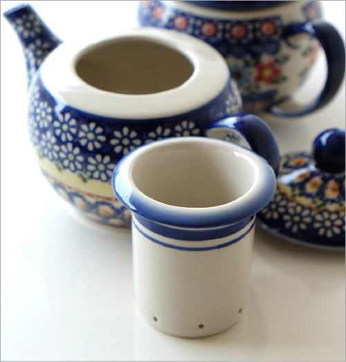ポーランド陶器のティーポット 2タイプ(3)