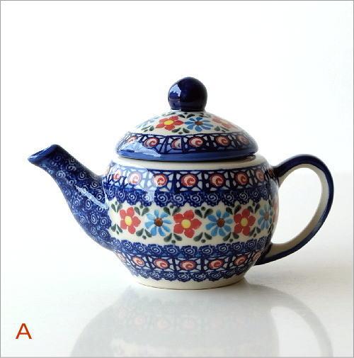 ポーランド陶器のティーポット 2タイプ(5)