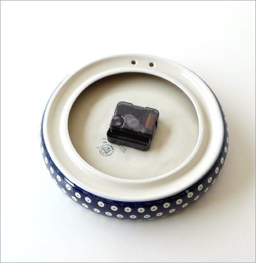 ポーランド陶器のウォールクロック(4)