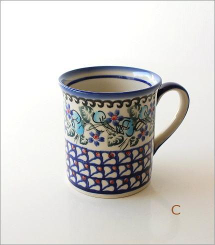 ポーランド陶器のマグA 4タイプ(5)