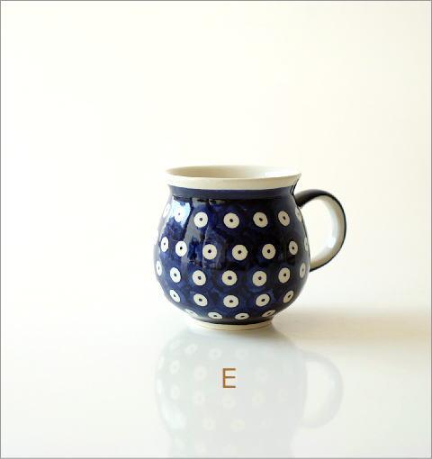 ポーランド陶器のマグB 5タイプ(5)