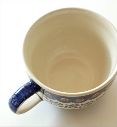 ポーランド陶器のスープカップ D(2)