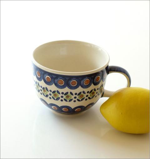 ポーランド陶器のスープカップ D(3)