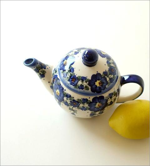 ポーランド陶器のティーポット C(4)