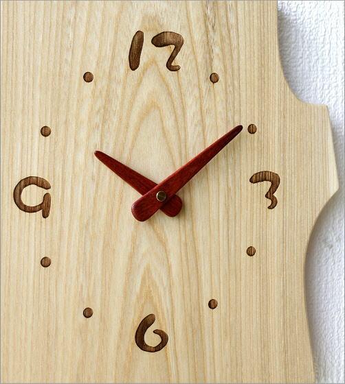 木の振り子時計 ねこ(2)