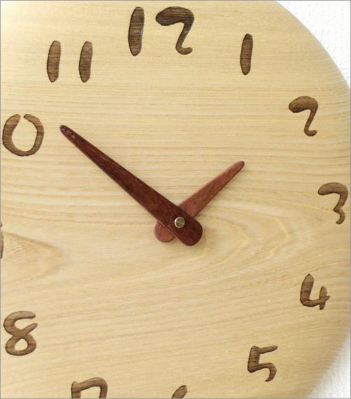 木の振り子時計 サークルNA(2)