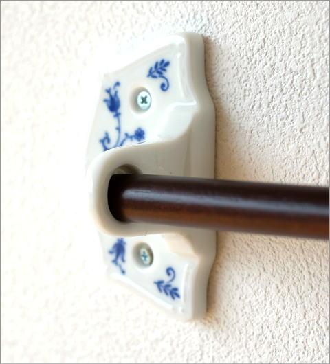 磁器とウッドのタオルハンガー(2)