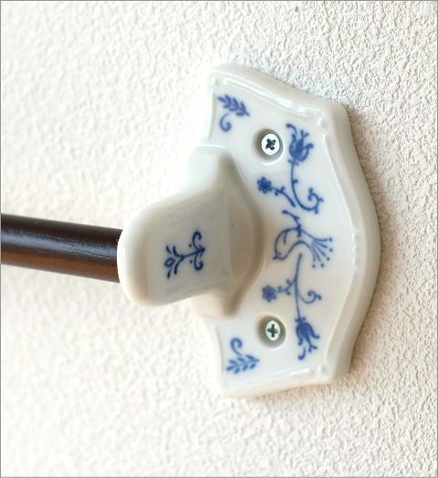 磁器とウッドのタオルハンガー(3)