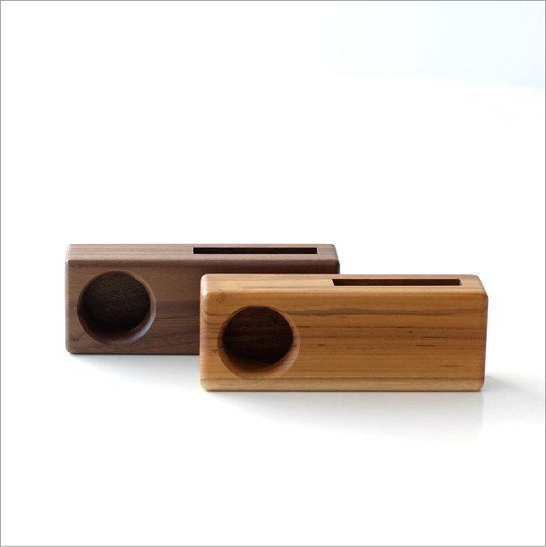 Woodスマホスピーカー シングル4タイプ(1)