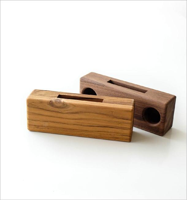 Woodスマホスピーカー ダブル42タイプ(5)
