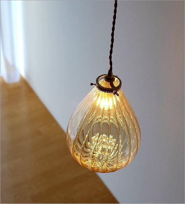 エジプシャンガラスランプ フィグB(1)