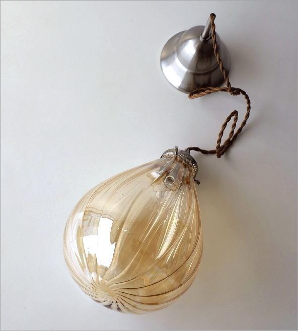 エジプシャンガラスランプ フィグB(3)