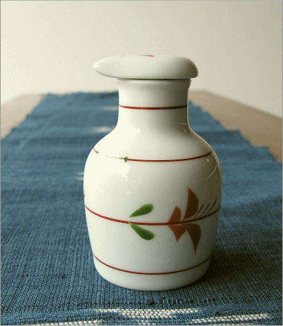 液だれしない陶器の醤油差し  楽らく醤油さし B(4)