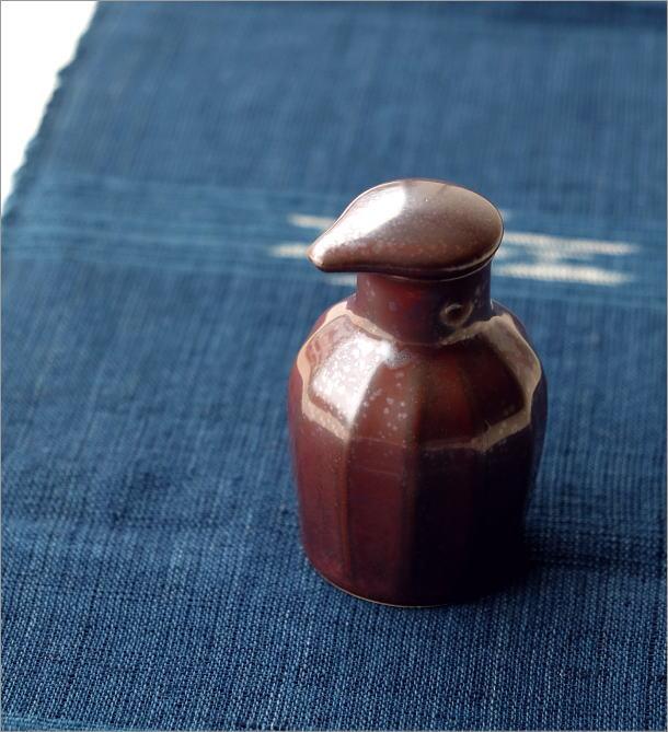 液だれしない陶器の醤油差し 楽らく醤油さし K(1)