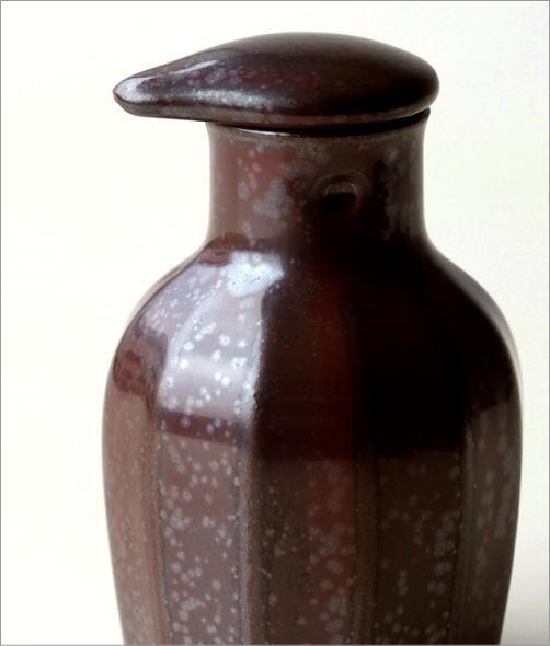 液だれしない陶器の醤油差し 楽らく醤油さし K(3)