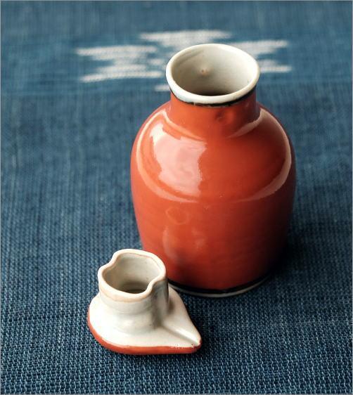 液だれしない陶器の醤油差し  楽らく醤油さし H(2)
