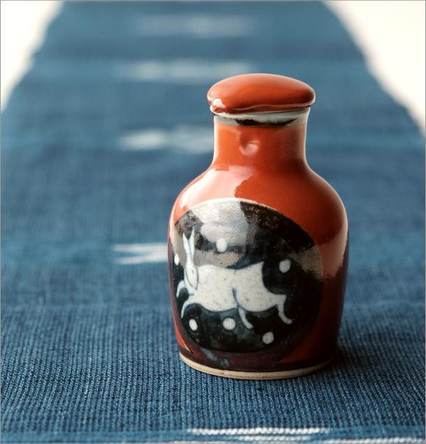 液だれしない陶器の醤油差し  楽らく醤油さし H(3)