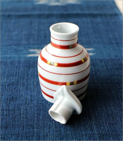 液だれしない陶器の醤油差し 楽らく醤油さし 玉つづり(2)