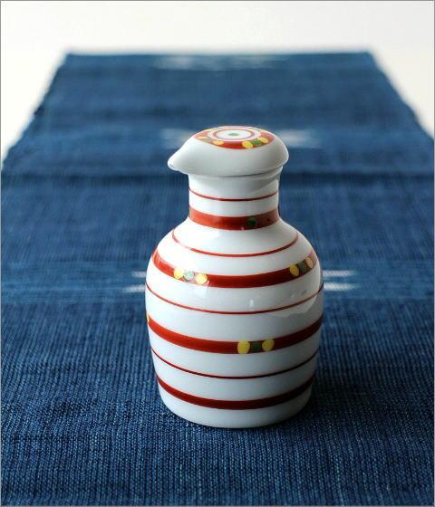 液だれしない陶器の醤油差し 楽らく醤油さし 玉つづり(3)
