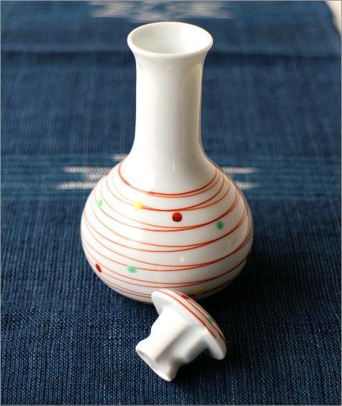 楽らく醤油さし 帯水玉鶴首(2)