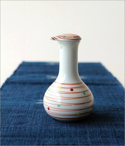 楽らく醤油さし 帯水玉鶴首(3)