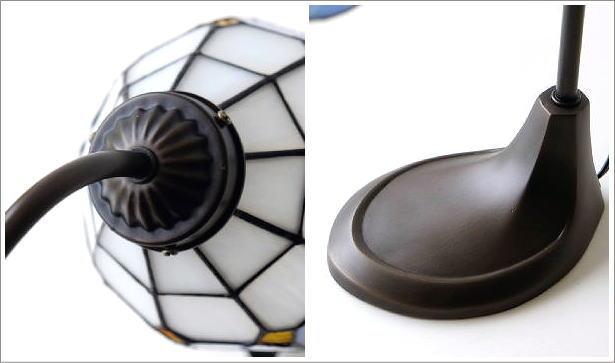 ステンドグラステーブルランプ リアナ(5)