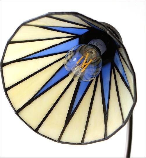 ステンドグラステーブルランプ リタ(4)