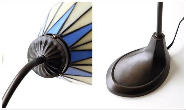 ステンドグラステーブルランプ リタ(5)