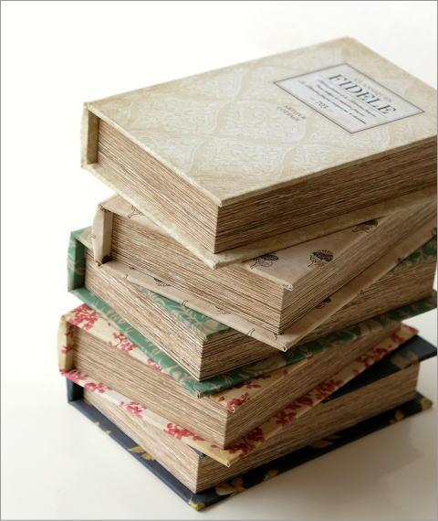 アンティークなブックボックス5タイプ(3)