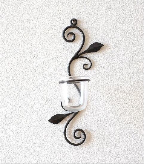 花瓶 ガラス 壁掛けフラワーベース・ミニ(4)
