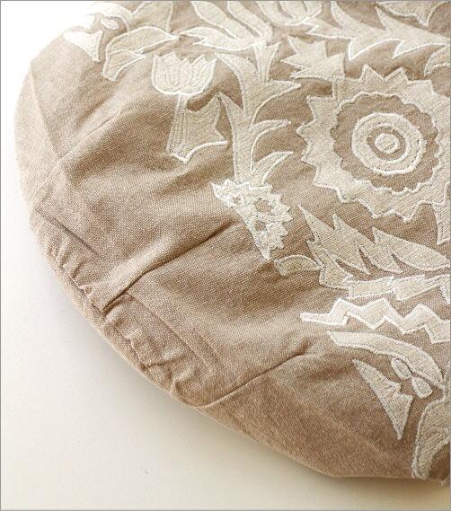コットンアップリケ刺繍ショルダーバッグ NA(3)