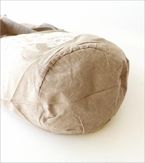 コットンアップリケ刺繍ショルダーバッグ NA(4)