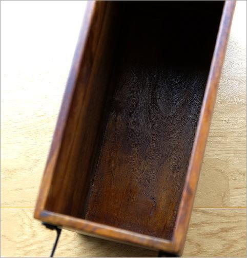 マガジンラック木製 シーシャムウッドフリーボックス(4)