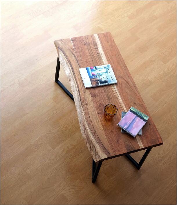 アカシアウッドローテーブル(1)