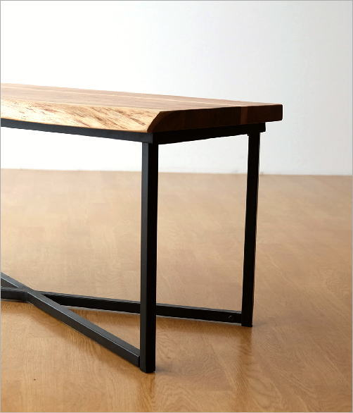 アカシアウッドローテーブル(4)