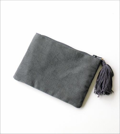 ビーズ刺繍ポーチ CH(4)