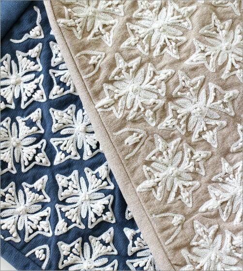 コットン刺繍ランチバッグ 2カラー(2)