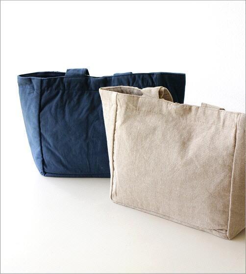 コットン刺繍ランチバッグ 2カラー(4)